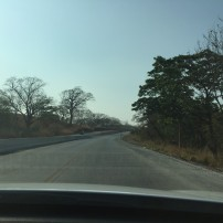 How the road started in Liberia